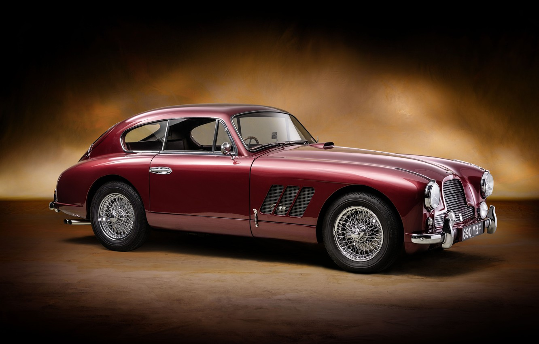 Photo wallpaper Aston Martin, retro, Sports, old car, Saloon, Rallye Monte Carlo, DB2-4