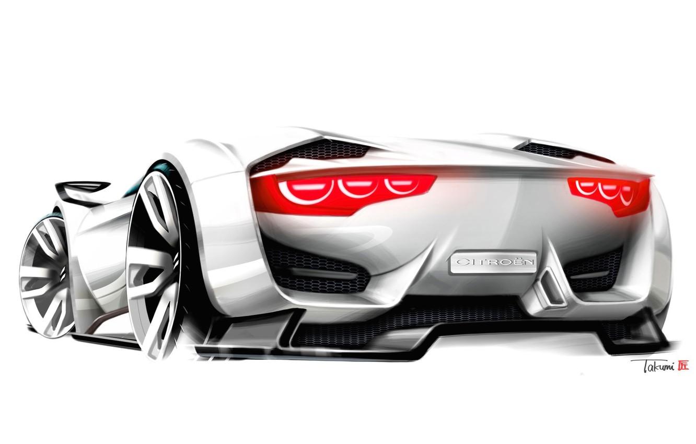 Photo wallpaper Concept, Citroen, Car, Wallpapers