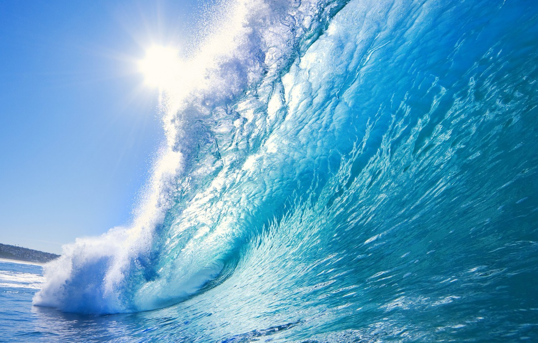 Photo wallpaper sea, nature, wave