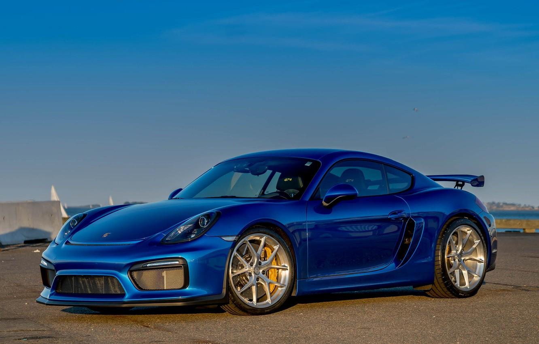 Photo wallpaper Porsche, Cayman, GT4, HRE, P101