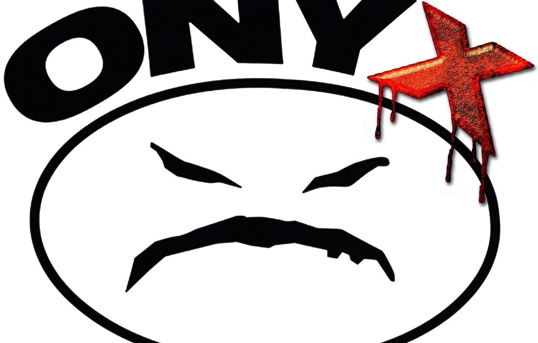 Photo wallpaper logo, onyx, music