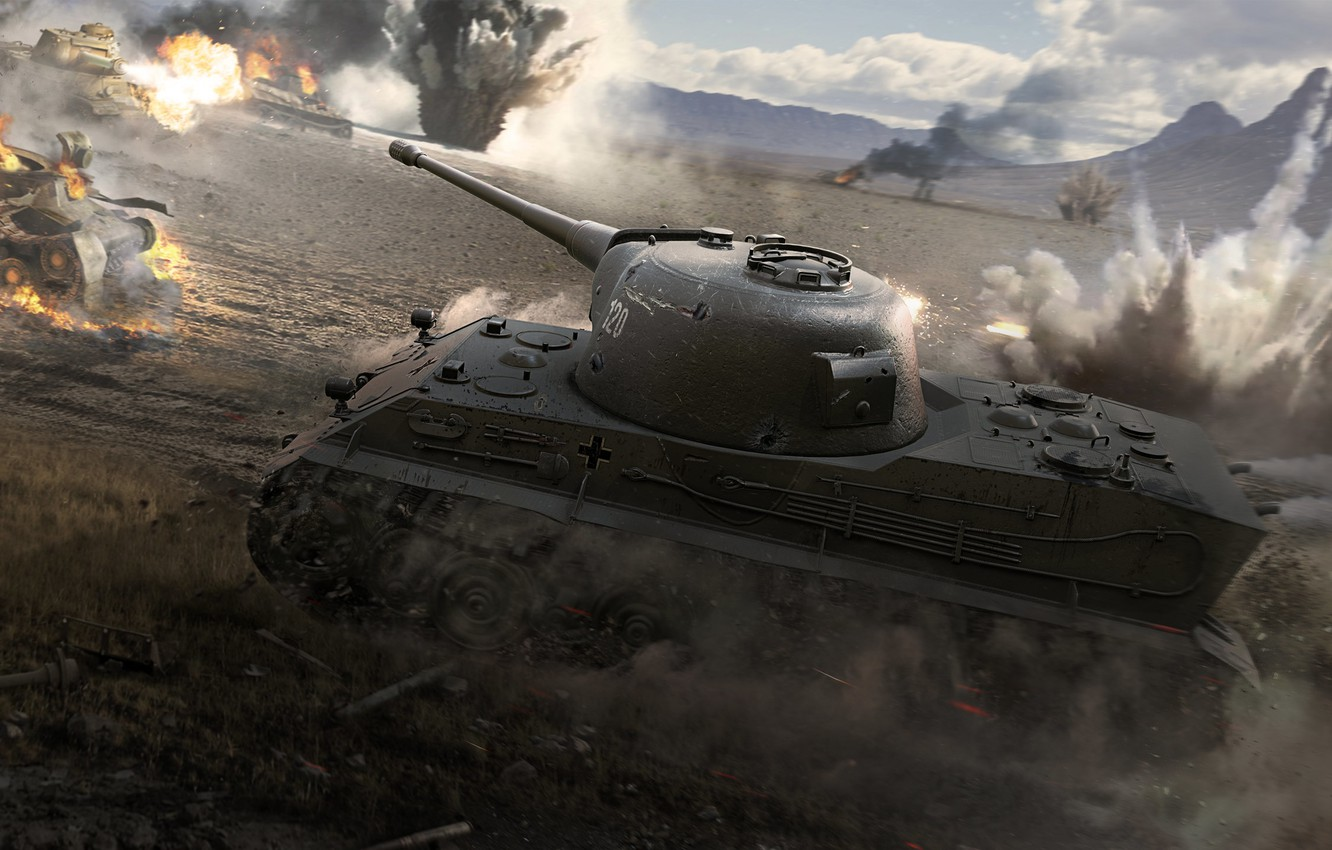 Wallpaper game, weapon, wot, tank, lowe images for desktop