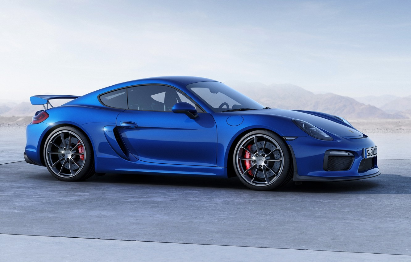 Photo wallpaper Porsche, Cayman, Porsche, GT4, 2015, 981C, Caiman