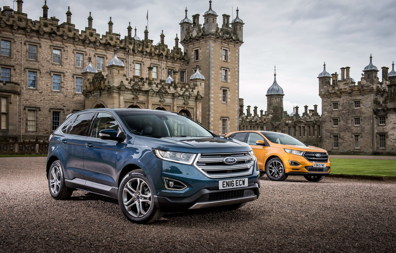 Photo wallpaper Ford, Ford, Edge, crossover, edge