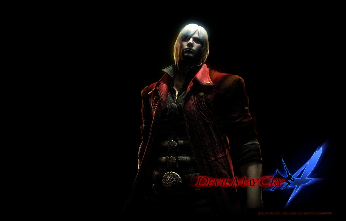 Photo wallpaper Wallpaper, the game, shadow, Dante, Devil May Cry 4