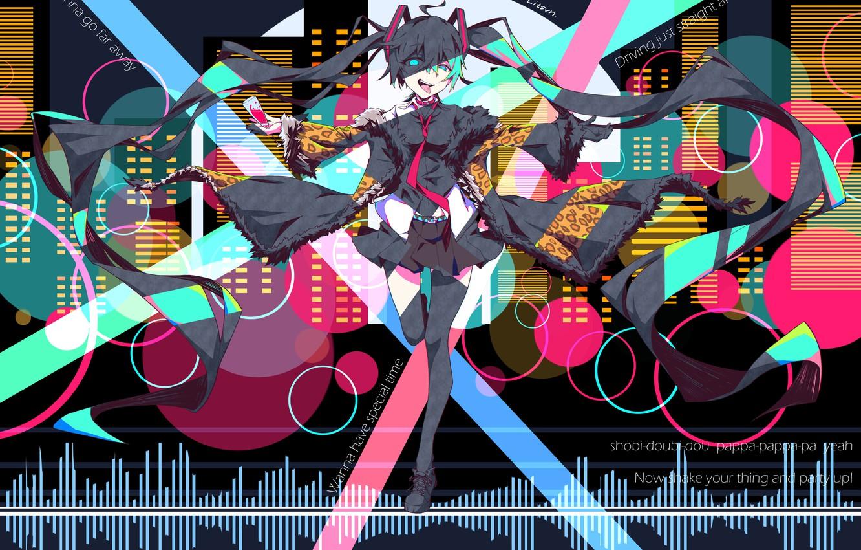 Photo wallpaper girl, anime, art, vocaloid