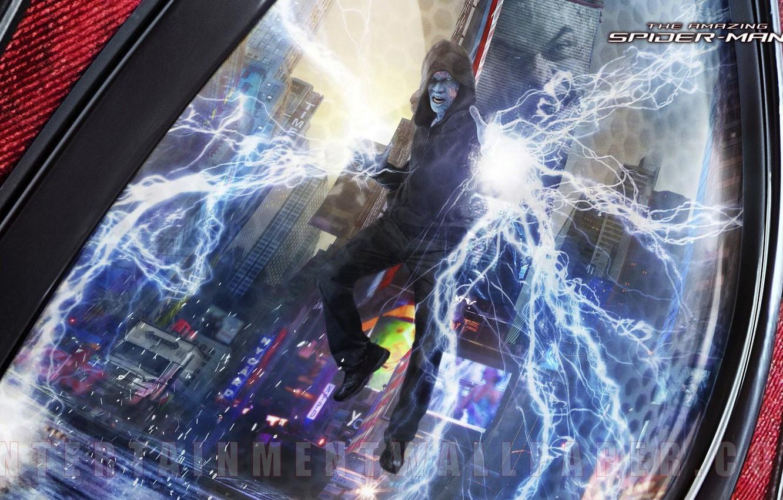 Wallpaper Electro The Amazing Jamie Foxx Spider Man 2 Images