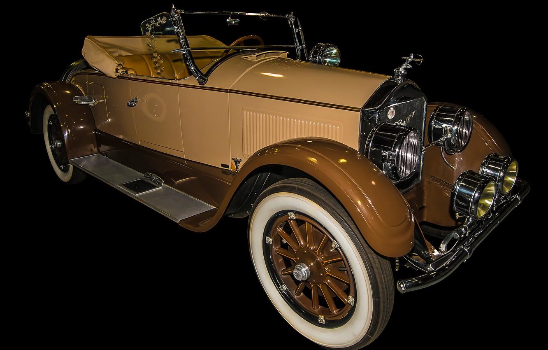 Photo wallpaper retro, convertible, car, Pierce-Arrow