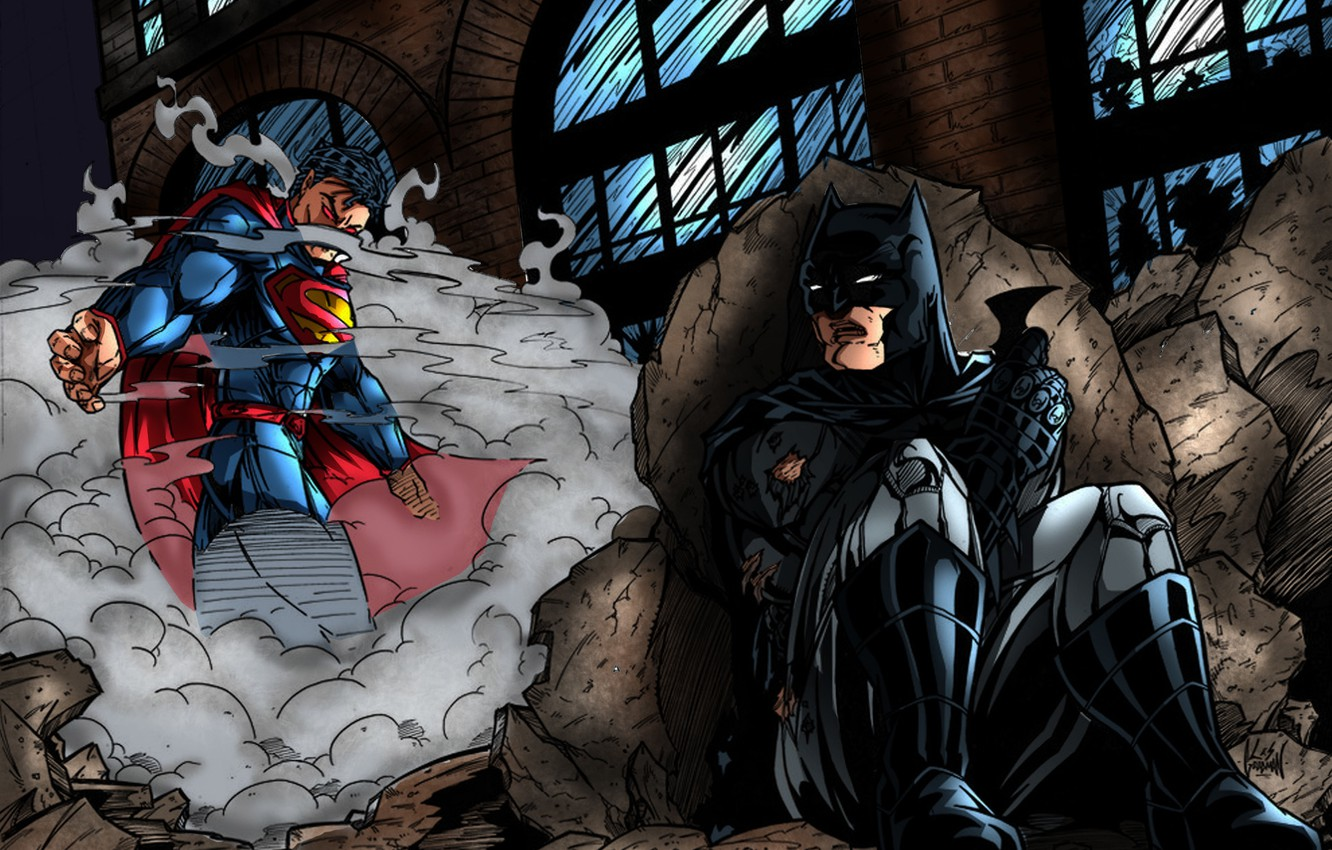 Wallpaper Fight Batman Superman Batman V Superman Images