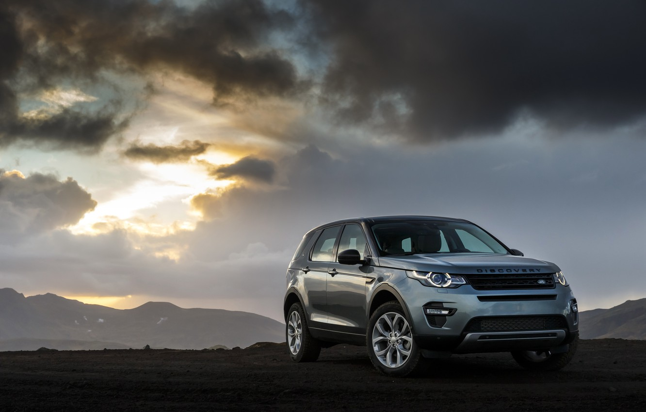 Photo wallpaper sport, Land Rover, Discovery, Sport, discovery, land Rover