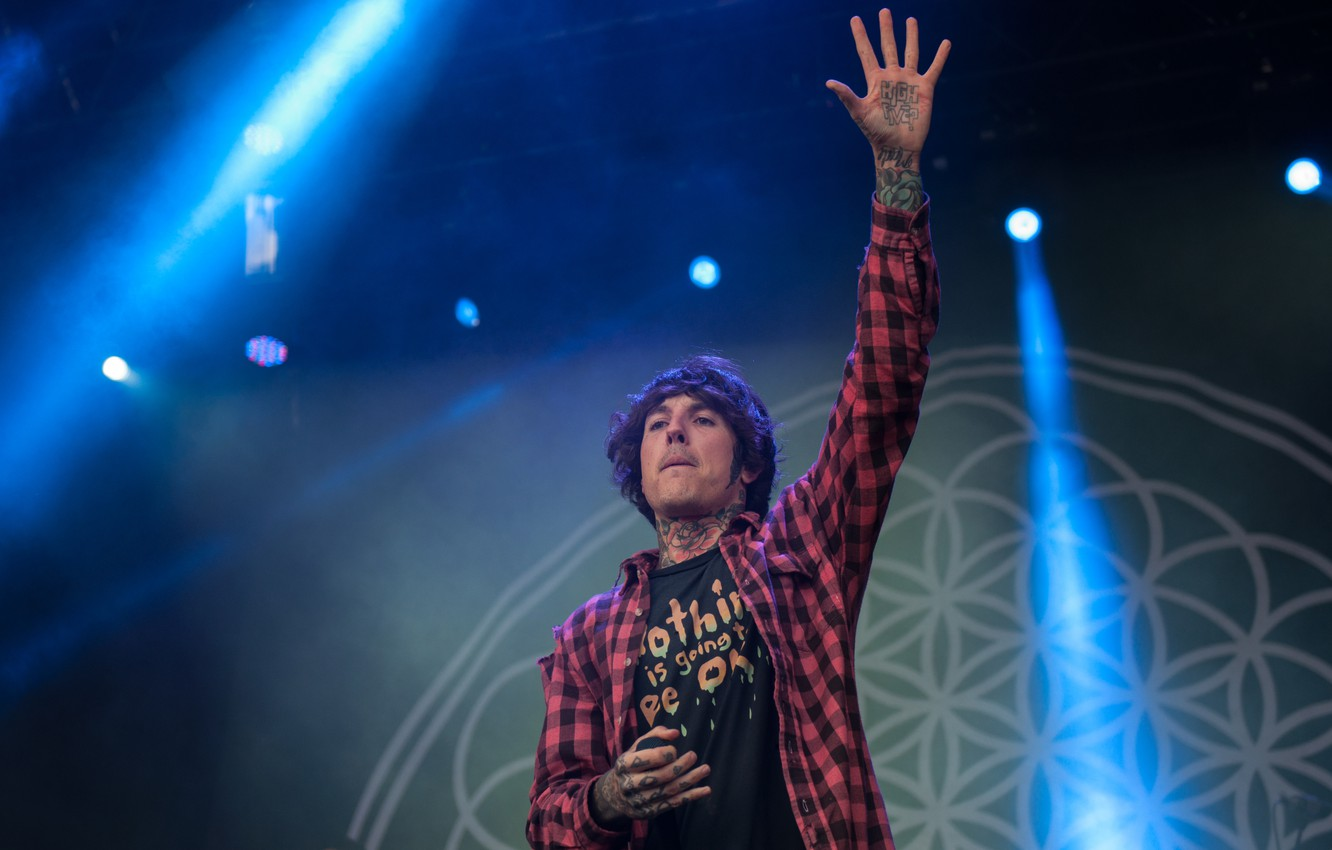 Wallpaper Tattoo Drop Dead Bmth Oliver Sykes Bring Me The