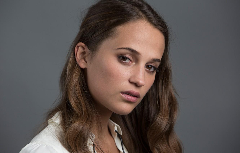 Photo wallpaper actress, photographer, brown hair, photoshoot, for the film, Amy Sussman, Alicia Vikander, Alicia Vikander, Testament …