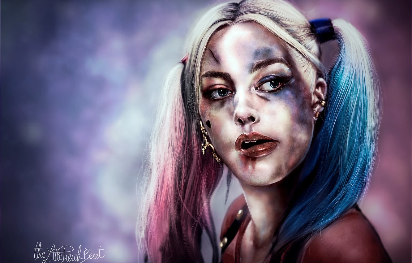 Wallpaper Harley Quinn Harley Quinn Margot Robbie Margot Robbie
