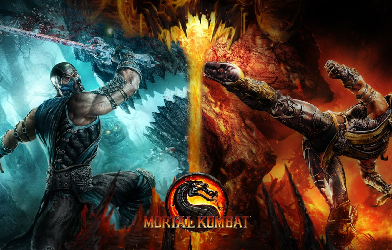 Wallpaper Scorpion Mortal Kombat Sub Zero Images For