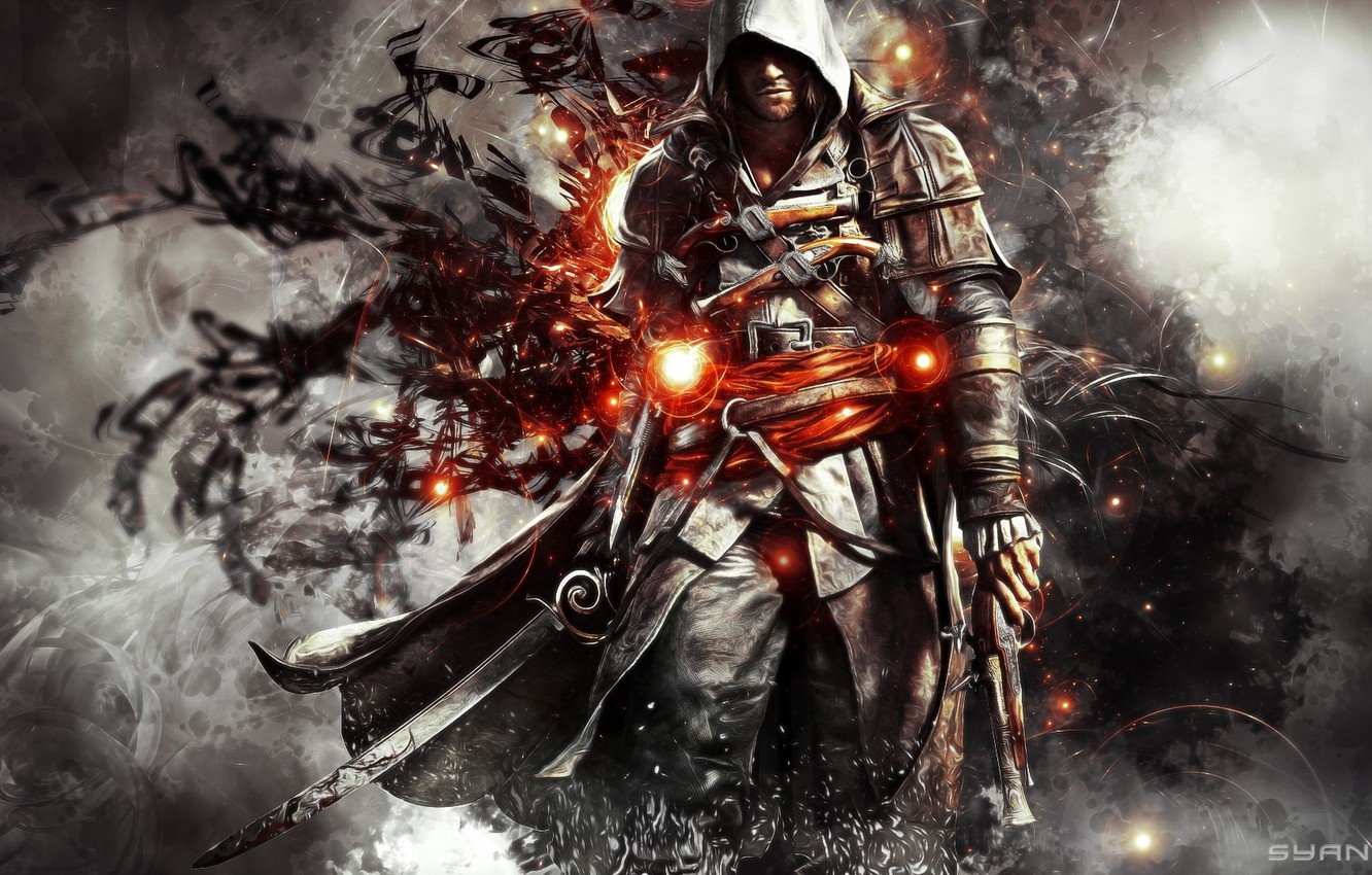 Wallpaper Artwork Edward Kenway Assassin S Creed Images For