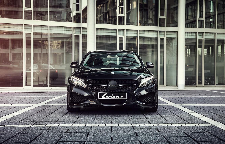 Photo wallpaper Mercedes-Benz, Mercedes, C-Class, 2014, W205, Lorinser