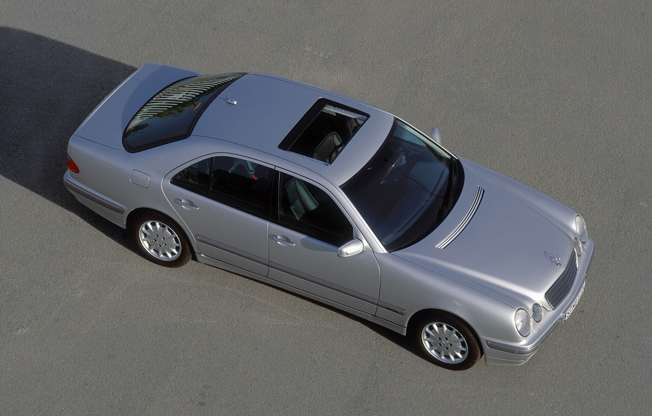 Photo wallpaper Mercedes-Benz, Mercedes, E-class, E-Class, 1999, E-class, W210, Executivklasse, Lupato, Eyed