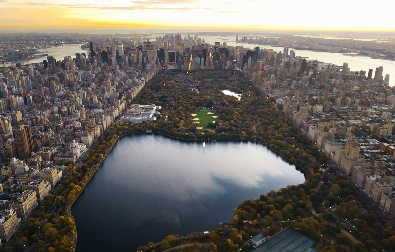 Обои manhattan, центральный парк, new york city. Города foto 12