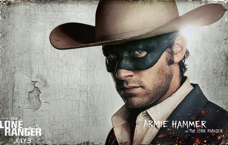 Photo wallpaper western, background, movie, sheriff, wild west, cowboy, The Lone Ranger, Armie Hammer, John Reid / …