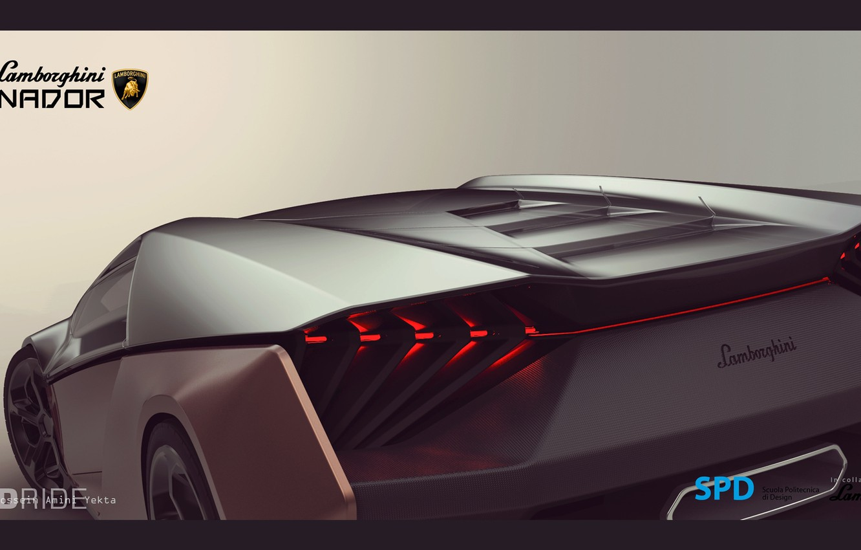 Photo wallpaper Lamborghini, The concept, Lamborghini, Ganador, SPD, Winner