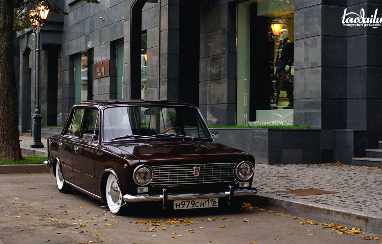 Photo wallpaper Lada, vaz, VAZ, lada, Lada, 2101, low classic