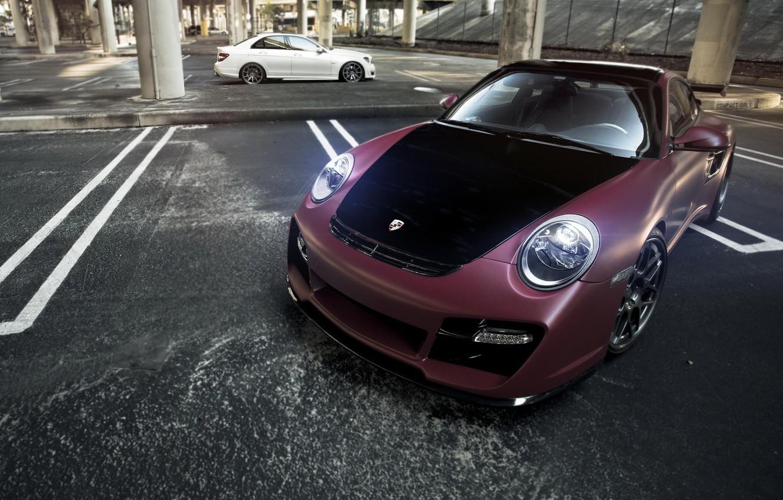 Photo wallpaper car, auto, Porsche, tuning, carrera, porsche 911, auto wallpaper