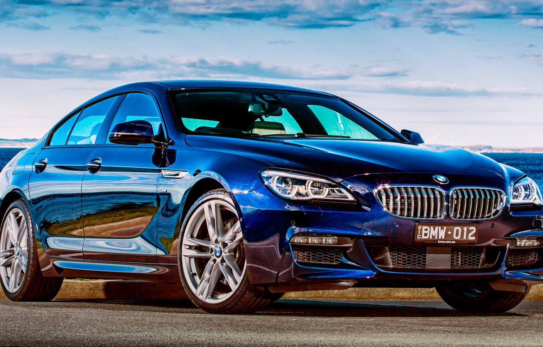 Photo wallpaper BMW, coupe, BMW, Gran Coupe, Sport, F06, AU-spec, 650i, 2015, 6-Series