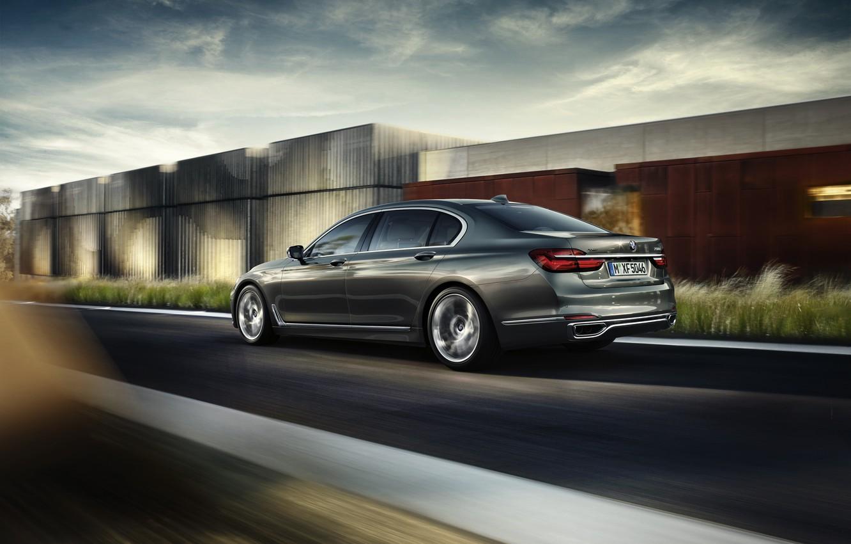 Photo wallpaper BMW, BMW, 750Li, xDrive, 2015, Excellence, G12, Design Pure