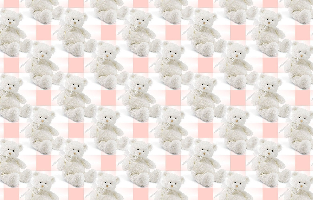 Photo wallpaper background, gift, toy, texture, bear