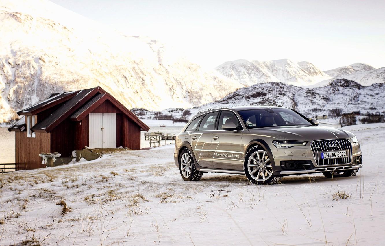 Photo wallpaper Audi, Audi, TDI, concept, quattro, Quattro, Before, 2015, avant