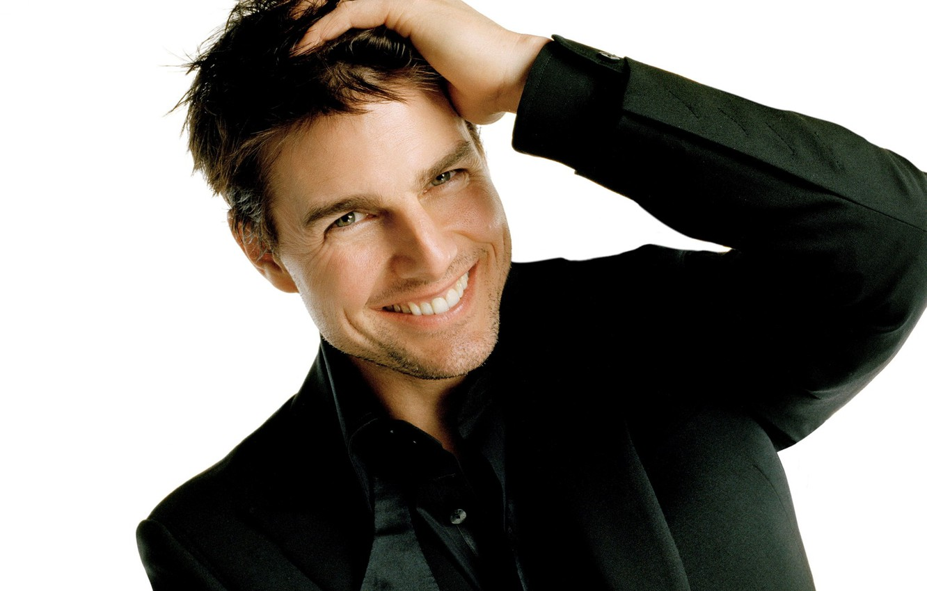 Photo wallpaper smile, male, Actor, Tom Cruise