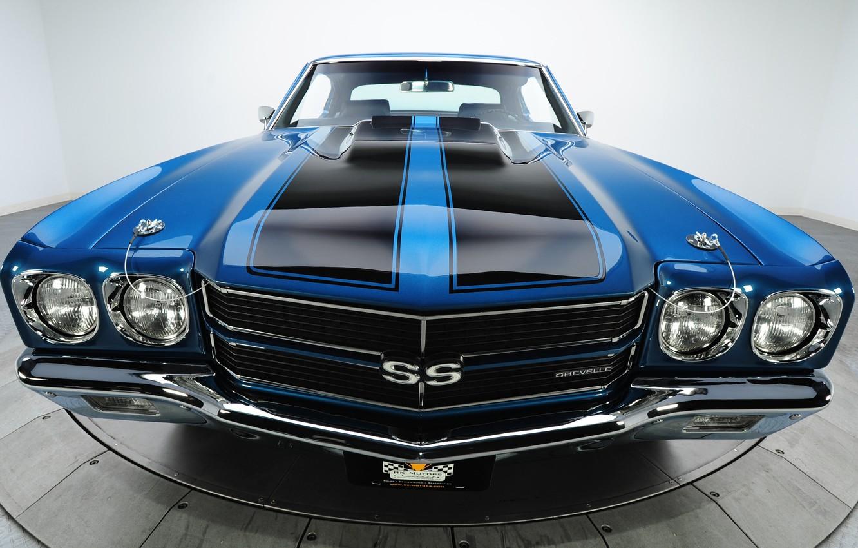 Photo wallpaper Chevrolet, muscle car, chevrolet, muscle car, 1970, chevelle, Sevil