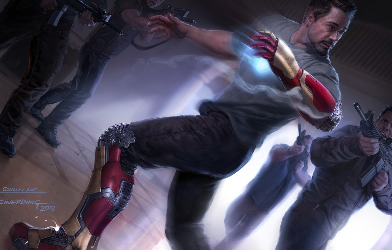 Photo wallpaper Robert Downey Jr, Robert Downey ml, Tony Stark, Iron man 3, Iron Man 3
