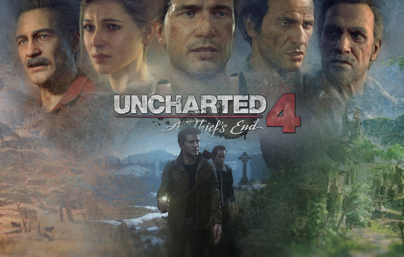 Wallpaper Game Sony Playstation Uncharted Console Ps4 Nathan Drake Uncharted 4 A Thief S End Naughtydog Images For Desktop Section Igry Download
