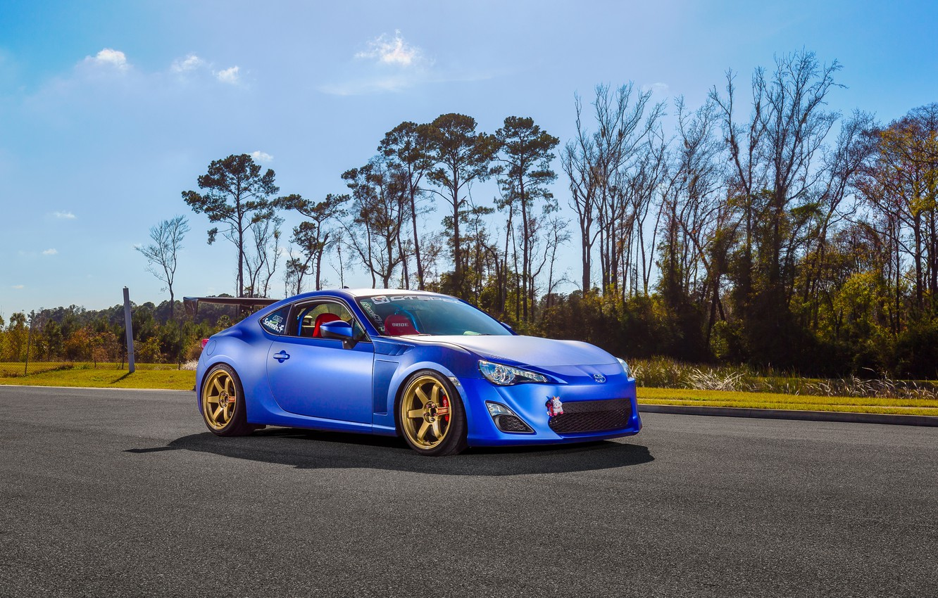 Photo wallpaper car, tuning, toyota gt86