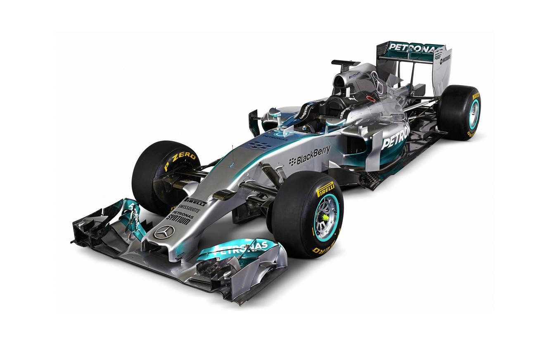 Photo wallpaper Mercedes, Formula1, AMG, 2014, W05