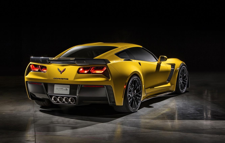 Photo wallpaper Z06, Corvette, Chevrolet, 2015