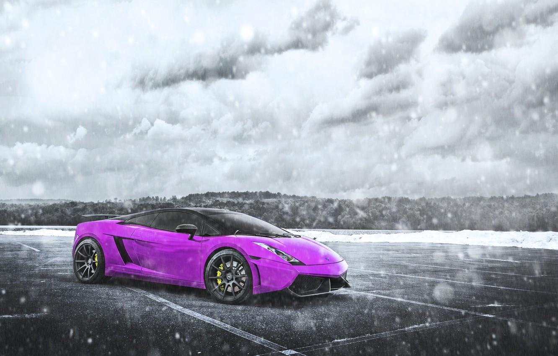 Pink Lamborghini Wallpaper Beautiful Beach