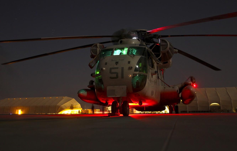 Wallpaper Night Usa Ch 53d Sea Marine Corps Stallion Images