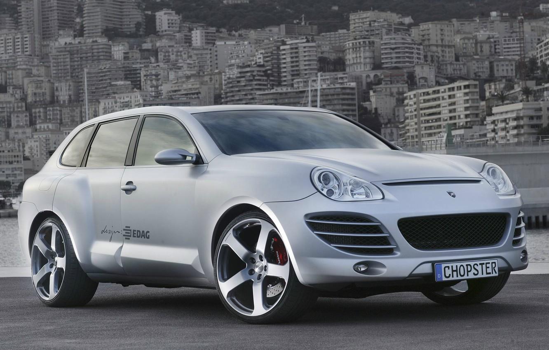 Photo wallpaper Rinspeed, Porsche Cayenne, Design, Silver, Chopster, EDAG