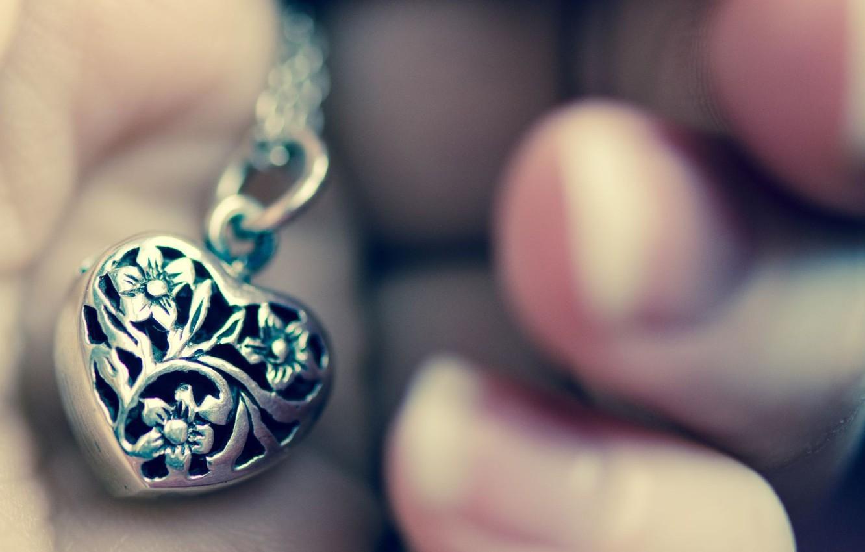 Photo wallpaper background, Wallpaper, mood, heart, hand, pendant, heart, accessory, the necklace, Ukraine