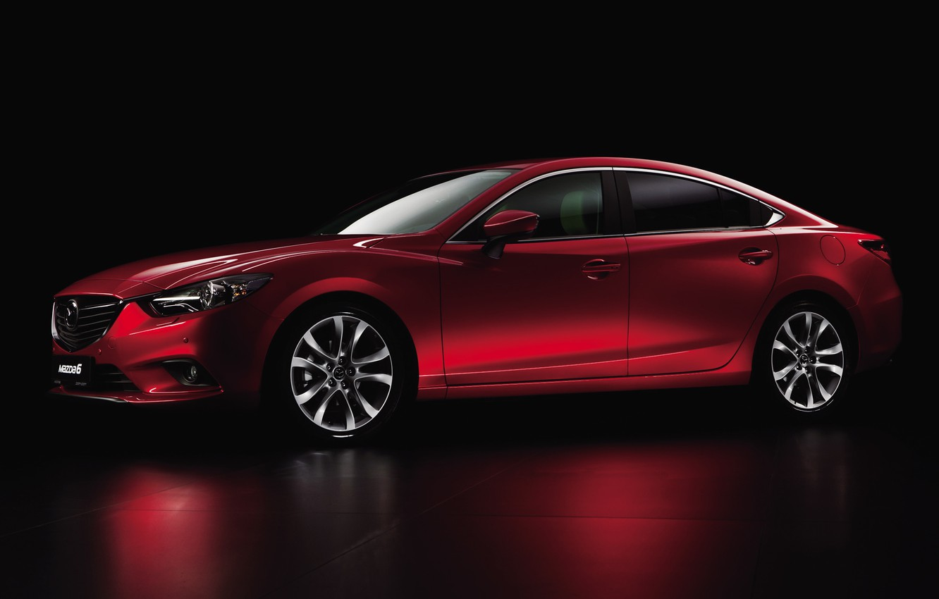 Photo wallpaper sedan, 2013, Mazda-6