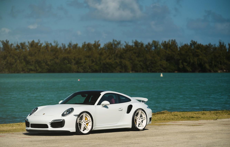 Photo wallpaper Porsche, Turbo, 991, MV2, ADV05