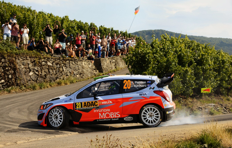 Photo wallpaper Profile, Hyundai, WRC, Rally, i20, Hayden Paddon