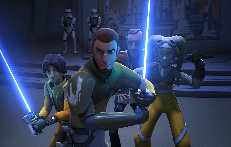 Wallpaper Heroes Animated Series Star Wars Rebels Star Wars Rebels Ezra Bridger Kanan Jarrus Images For Desktop Section Filmy Download