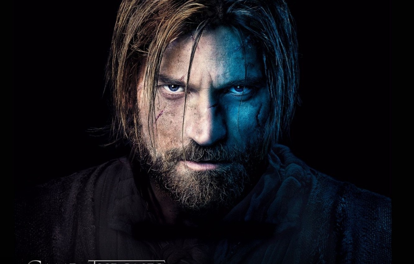 Photo wallpaper scar, game of thrones, game of thrones, Nikolaj Coster-Waldau, nikolaj coster-waldau