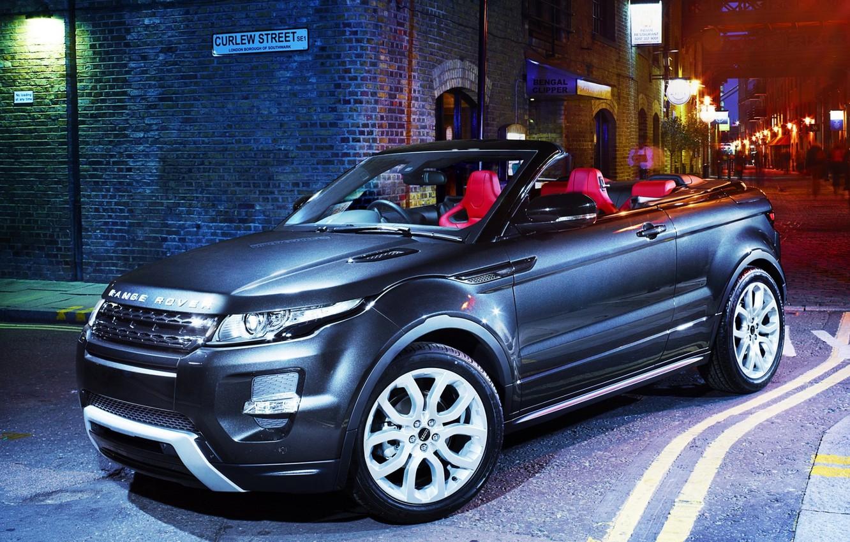 Photo wallpaper night, concept, jeep, the concept, lantern, Land Rover, convertible, range rover, convertible, crossover, Ewok, range …