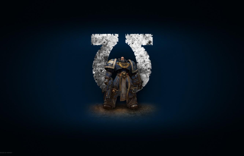 Photo wallpaper warhammer, 40k, ultramarines, Ultramarines, Warhammer, space Marines