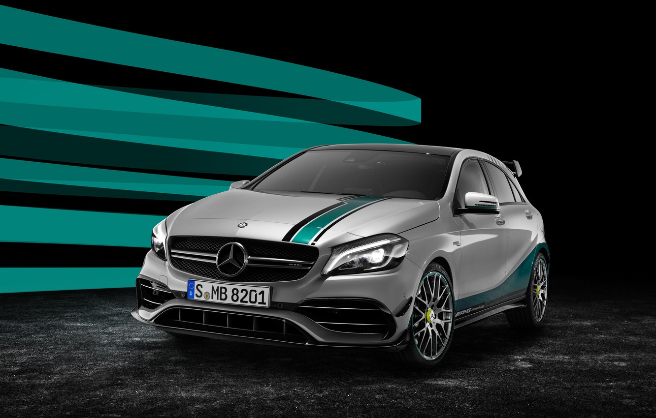 Photo wallpaper Mercedes-Benz, AMG, AMG, W176, A-Class, Mercedes.