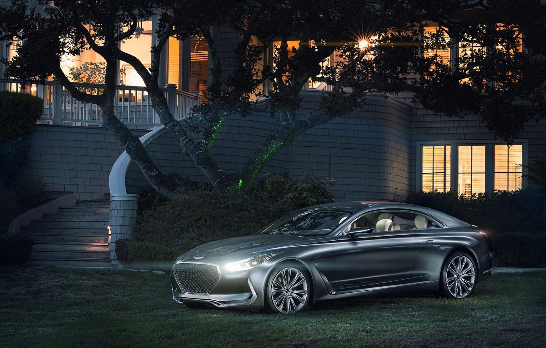 Photo wallpaper car, Concept, Hyundai, Coupe, Vision G